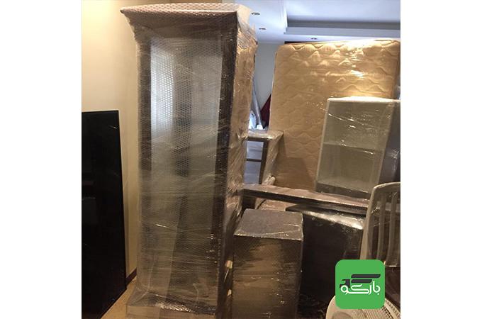 بسته بندی اثاثیه منزل با بارکو