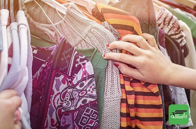 بسته بندی لباس در اسباب کشی