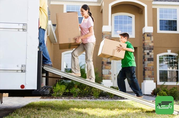 موقعیت منزل جدید موثر در انتخاب ماشین باربری