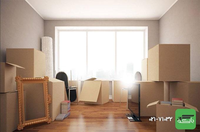 اسباب کشی آسان با بسته بندی لوازم منزل