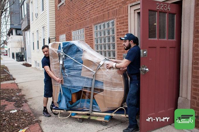 حفاظت از لوازم منزل با بسته بندی اثاثیه منزل