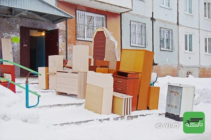 اسباب کشی در زمستان؛ راهکارهایی برای جا به جایی در فصل سرما