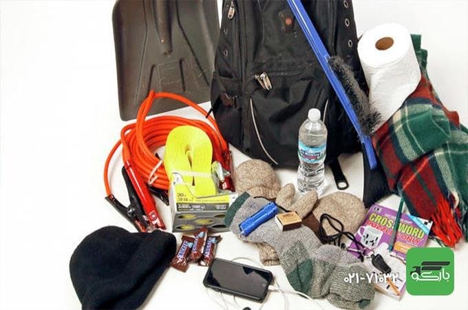 تجهیزات ضروری برای اسباب کشی در زمستان