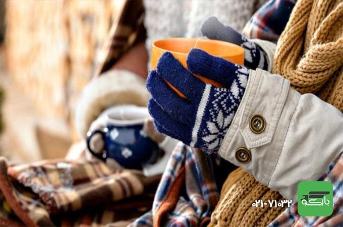 لباس گرم برای اسباب کشی در زمستان