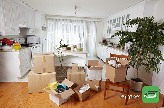 حجم اثاثیه منزل موثر بر قیمت اسباب کشی