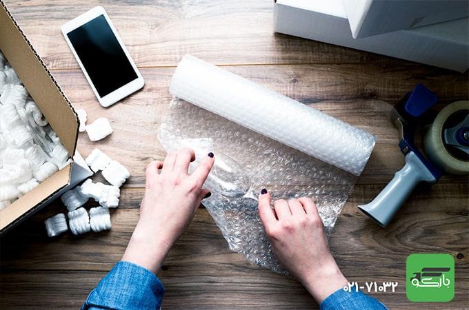 بسته بندی اثاثیه منزل لازمه یک اسباب کشی آسان