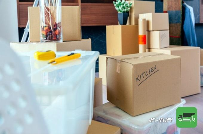 بسته بندی اثاثیه منزل در اسباب کشی
