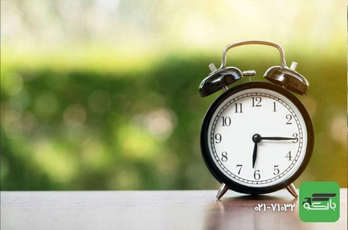 کاهش زمان اسباب کشی