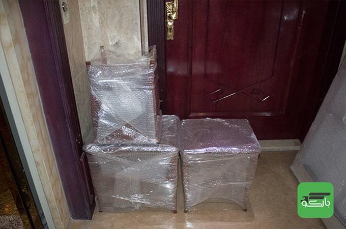 بسته بندی اثاثیه منزل بارکو