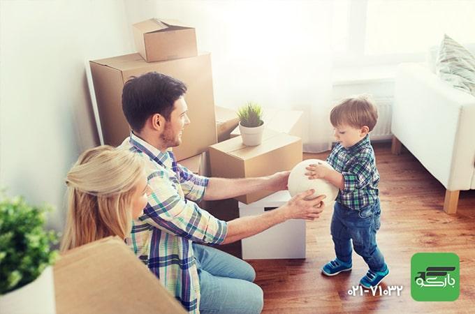 محافظت از خانواده در اسباب کشی